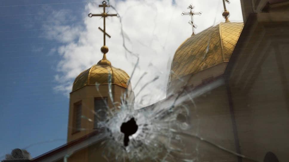 Церковь в Грозном выдержала налет ваххабитов