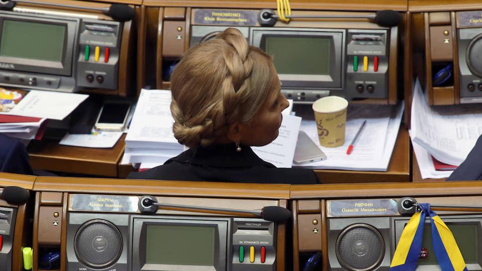 Как изменился состав украинского парламента