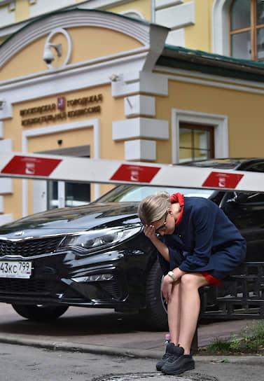 Незарегистрированный кандидат в депутаты Московской гордумы Любовь Соболь
