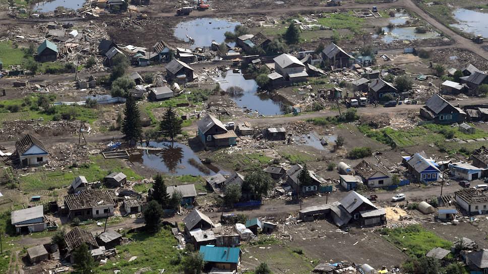 Последствия наводнения в Иркутской области