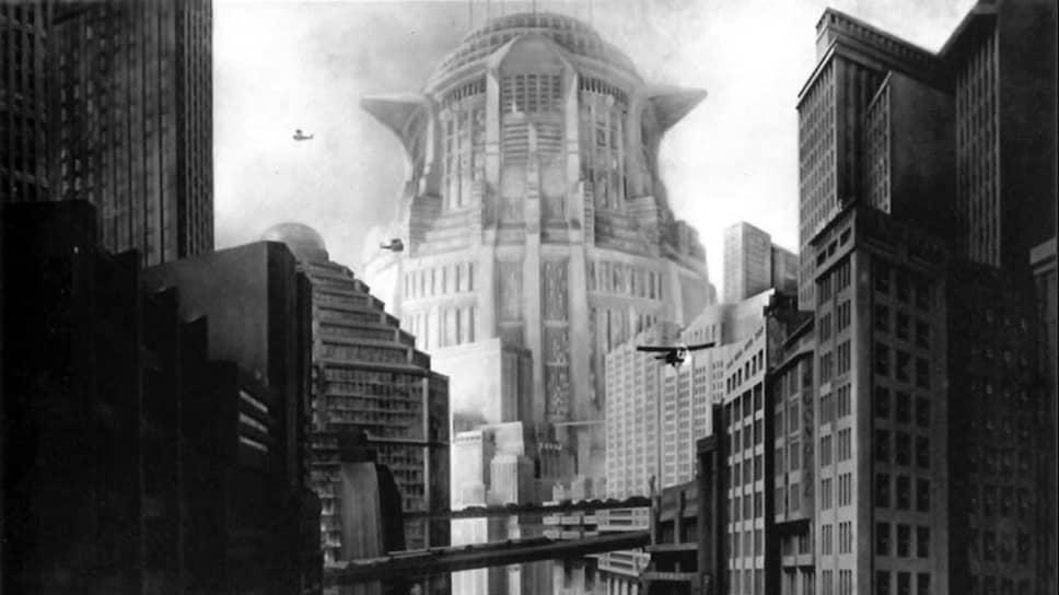 Город стал одним из героев «Метрополиса» (1927) Фрица Ланга и выставки о кино Веймарской республики