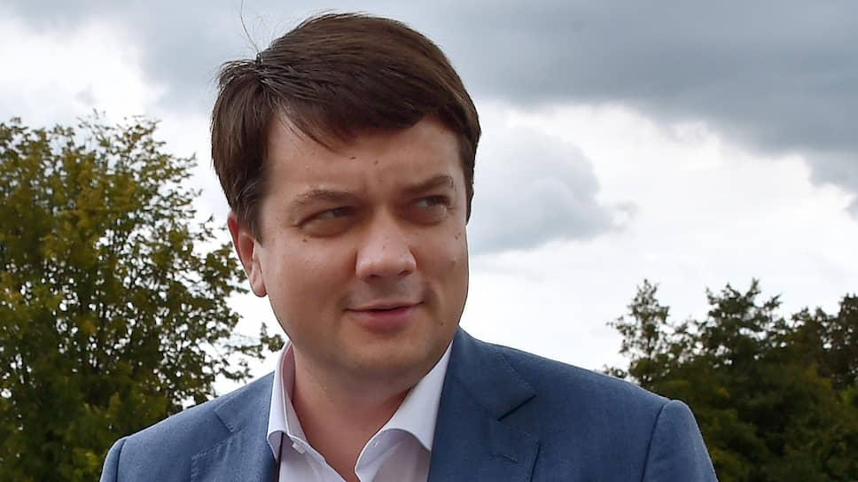 """Что Дмитрий Разумков рассказал """"Ъ"""" о планах на ближайшее будущее"""