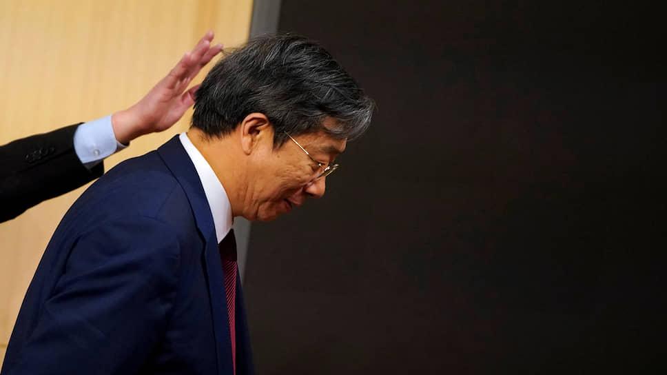 Возглавляемый И Ганом Народный банк Китая заявил, что курс юаня оказался под давлением «односторонних и протекционистских мер США»