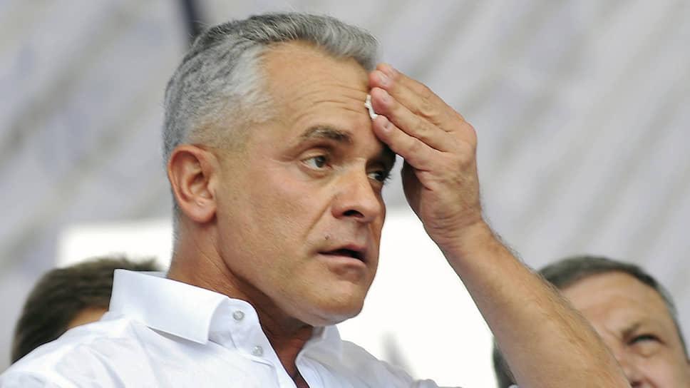 Молдавский политик Владимир Плахотнюк