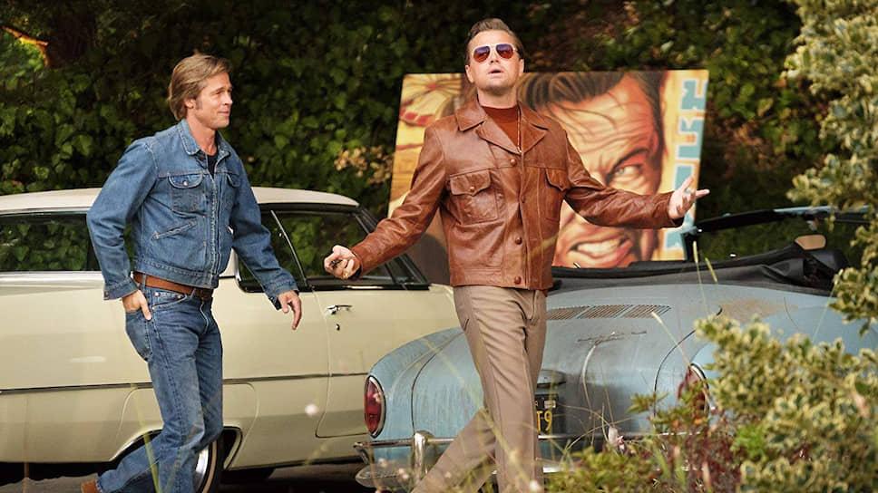 С легкой руки режиссера вымышленные герои Брэда Питта и Леонардо Ди Каприо вошли в реальную историю Голливуда