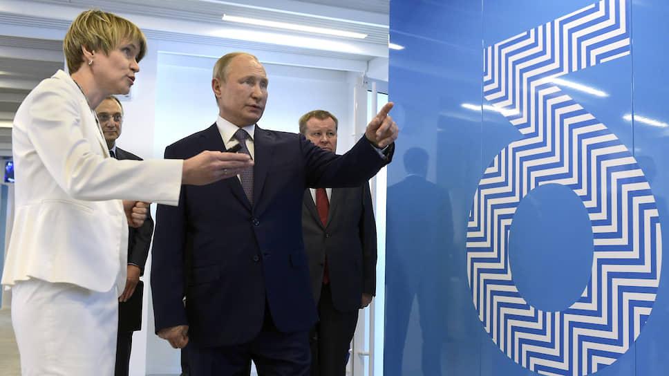 Глава фонда «Талант и успех» Елена Шмелева указала Владимиру Путину на обширные перспективы распространения опыта центра «Сириус» по стране