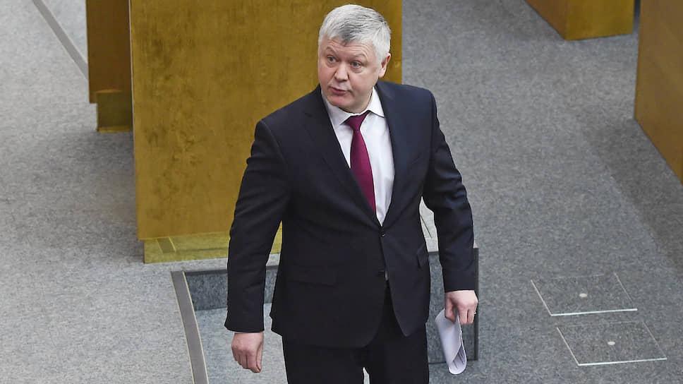 Председатель комитета Госдумы по безопасности и противодействию коррупции Василий Пискарев