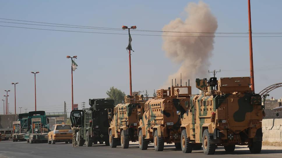 ВВС Сирии атаковали турецкую военную колонну, заподозрив Анкару в помощи террористам