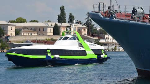 В Крыму ждут «Комету» // Санкции задержали расширение флота на подводных крыльях