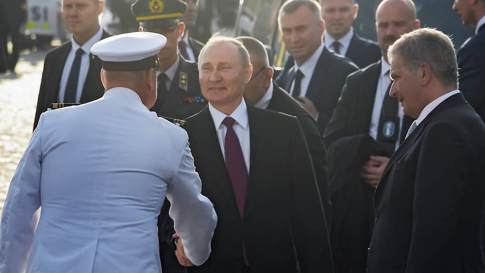 Ниинистё себе! / Как российский президент брал вторую крепость подряд