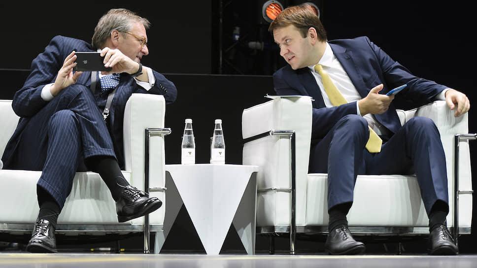 В возглавляемом Максимом Орешкиным Минэкономики услышали претензии бизнес-омбудсмена Бориса Титова к основным законопроектам реформы контроля и надзора