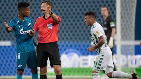 Клубы сыграют против судей  / Ошибки арбитров вышли на первый план в чемпионате России