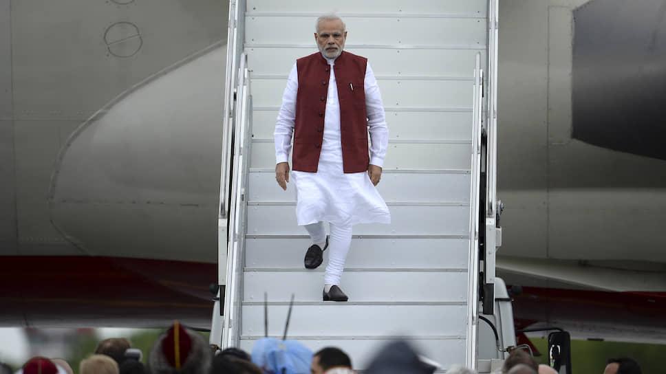 Премьер-министр Индии Нарендра Моди прилетит на ВЭФ в том числе ради подписания межправсоглашения, которое должно увеличить товарооборот страны с РФ втрое