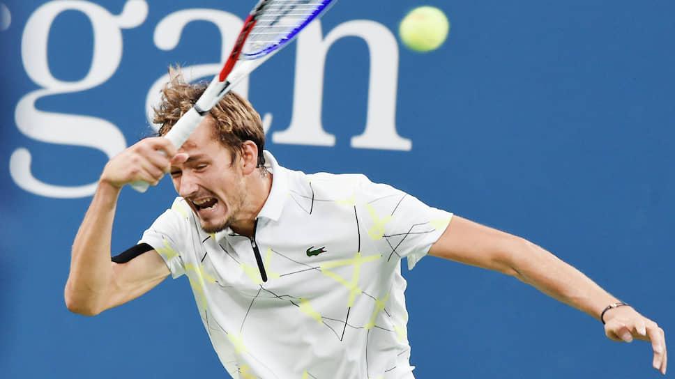 Блестящие результаты на турнирах, проходивших в августе, для Даниила Медведева конвертировались в выход в четвертьфинал US Open в сентябре