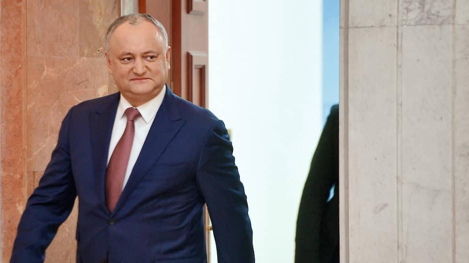 Президент Игорь Додон надеется договориться в Москве о предоставлении Молдавии скидки на газ