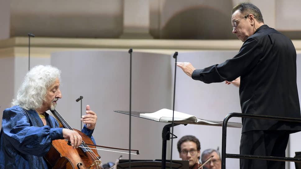 Миша Майский с изрядной виртуозностью лепил блестящий образ Первого виолончельного концерта вместе с РНО под управлением Михаила Плетнева