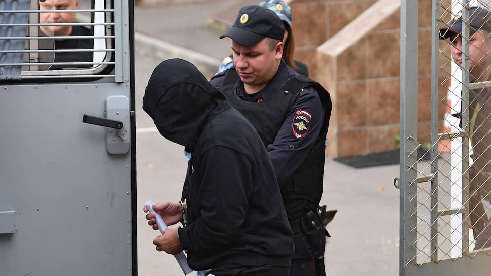 Предполагаемый криминальный авторитет Олег Медведев