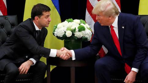 Владимир Зеленский прозвучал в записи  / Стенограмма беседы президентов США и Украины заслонила дискуссию на Генассамблее ООН
