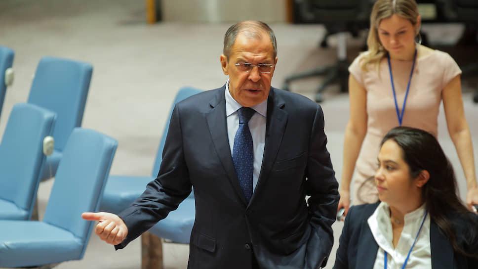 Глава МИД РФ Сергей Лавров согласился с предложением использовать Генассамблею ООН для налаживания российско-грузинских контактов
