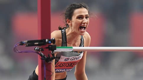 Мария Ласицкене не отдала высоту  / Она выиграла третье подряд золото мировых первенств