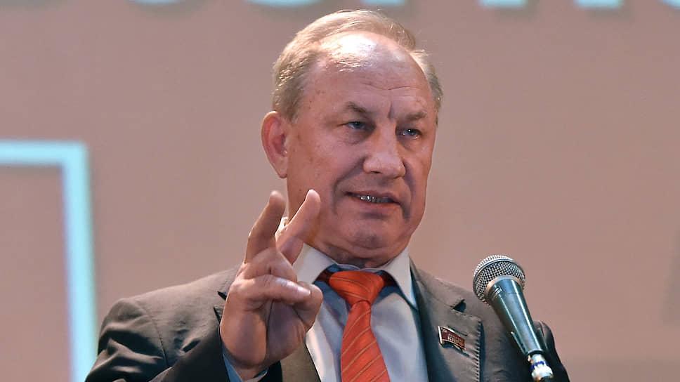 Председатель московского горкома КПРФ Валерий Рашкин