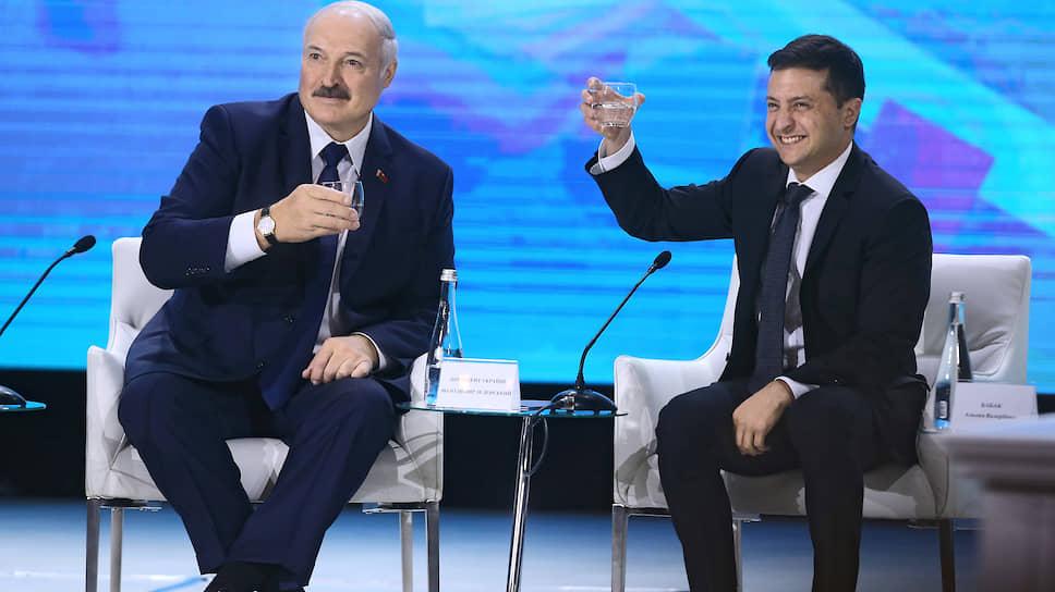 Служу соседскому союзу / Президенты Украины и Белоруссии хотят дружить странами, реками и ракетами
