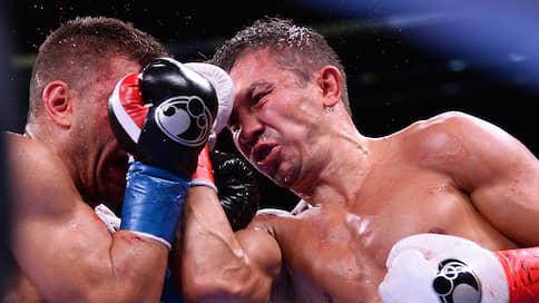 Геннадий Головкин вернул вес  / Он снова стал чемпионом мира, выиграв в равном бою у Сергея Деревянченко