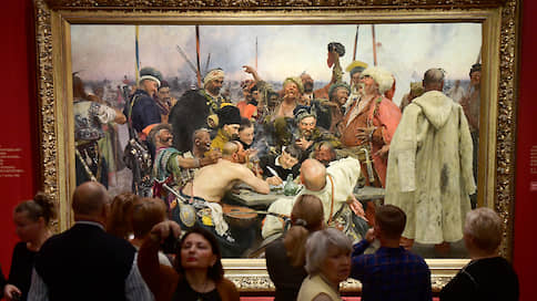 Первый среди разных  / Юбилейная выставка Репина переехала в Петербург