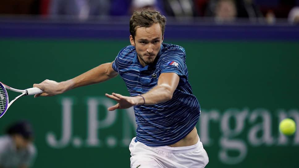 Даниил Медведев на турнире в Шанхае выглядел практически неуязвимым