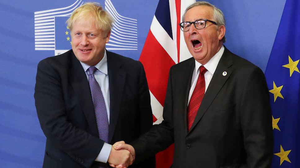 Объявление о договоренности по поводу «Брексита», сделанное Борисом Джонсоном и председателем Еврокомиссии Жан-Клодом Юнкером, оказалось неожиданностью