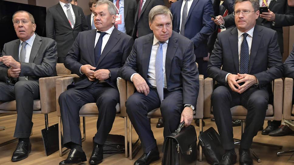 В боях этот день провел не только министр обороны России, но и все члены российской делегации