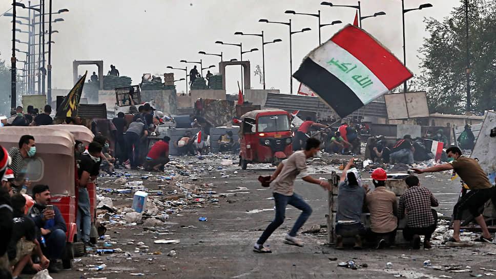 Протесты в Ираке (на фото) и Ливане имеют общую природу: их первопричины — безработица, рост цен и коррупция во властных структурах