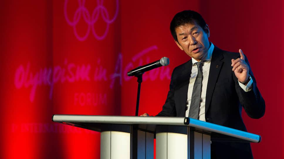 Спортивный функционер Моринари Ватанабэ