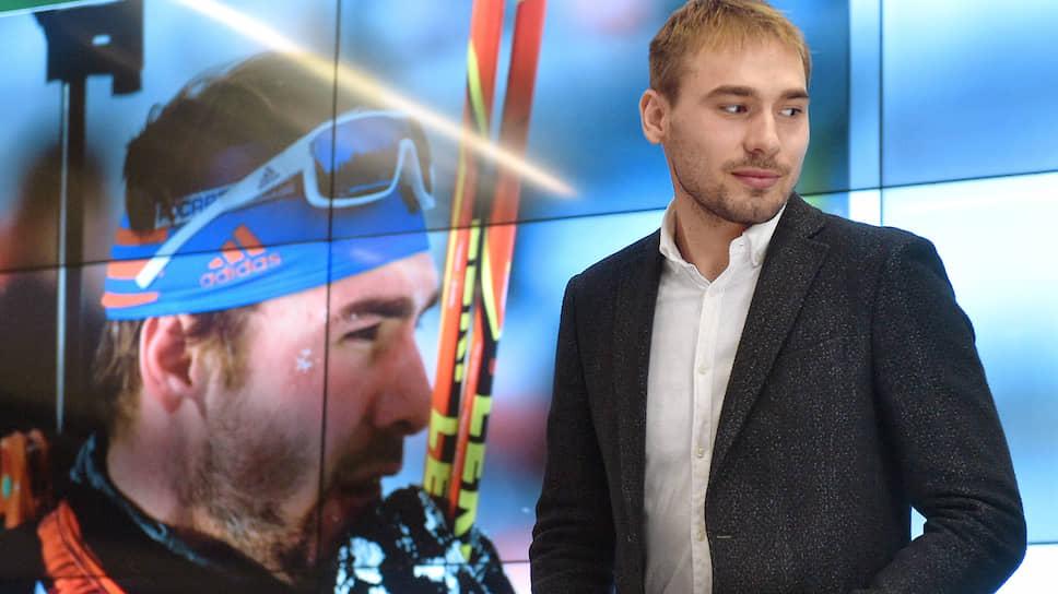 Олимпийский чемпион по биатлону Антон Шипулин