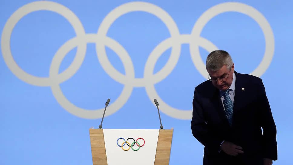 Президент МОК Томас Бах объявил о том, что на новые программы по борьбе с допингом будет выделено $10 млн