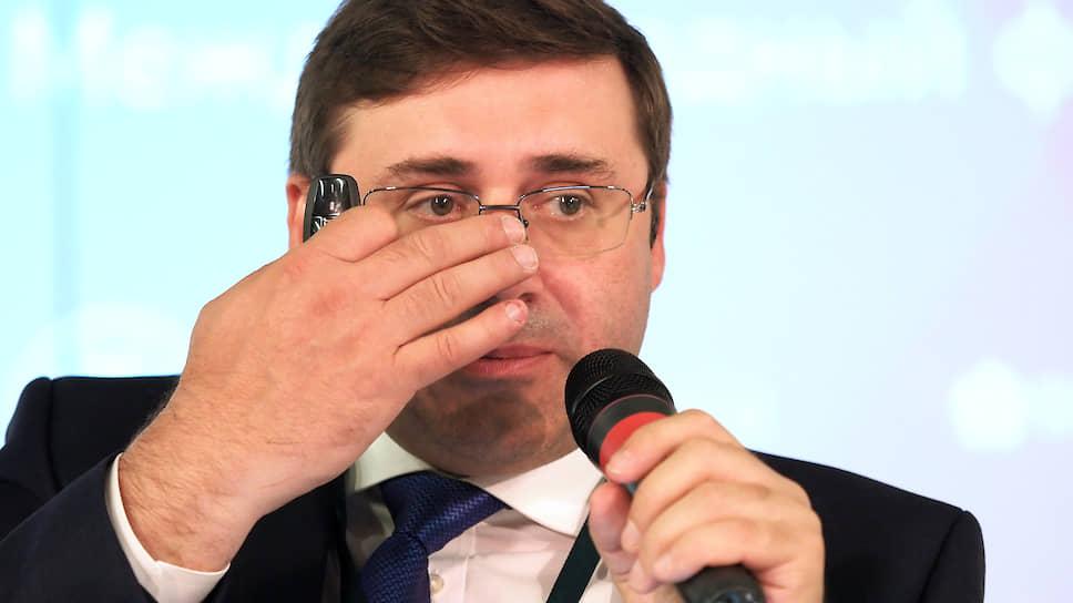 Первый заместитель председателя Центрального Банка России Сергей Швецов
