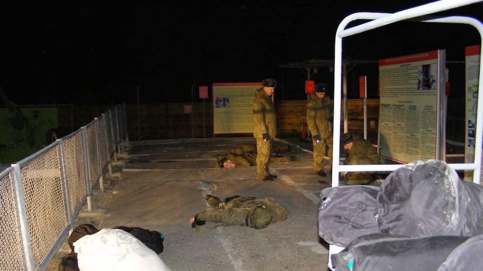 Место массового убийства в войсковой части Забайкалья