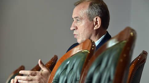 Против губернатора развернули фронт  / ОНФ предъявил претензии к правительству Иркутской области