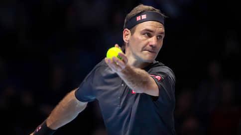 Роджер Федерер показал пример  / Даниилу Медведеву на итоговом турнире в Лондоне