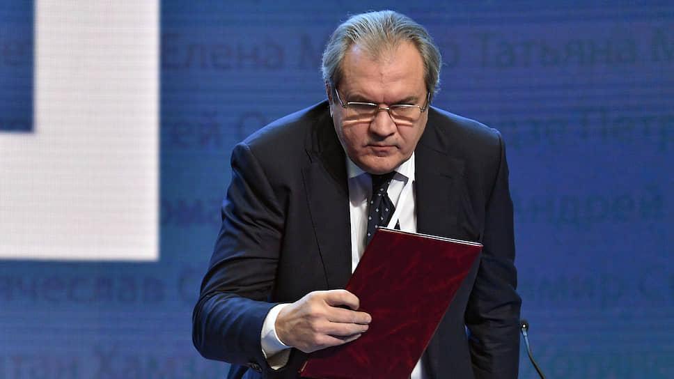 Председатель Совета по развитию гражданского общества и правам человека при президенте России Валерий Фадеев
