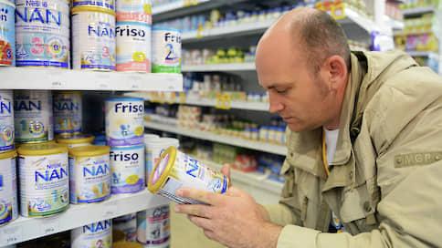 Смеси ограничат не по-детски  / Импорт заменителей грудного молока могут ограничить