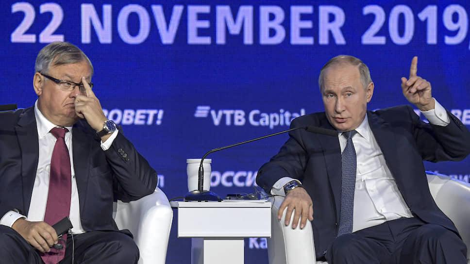 Как Владимир Путин избавил дискуссию на форуме «Россия зовет!» от неудобного слова