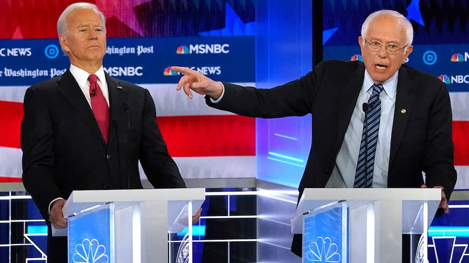 Как прошли дебаты кандидатов от Демократической партии США