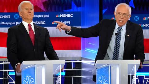 С умеренностью в будущее  / Дебаты кандидатов от Демократической партии США добавили неопределенности предвыборной гонке