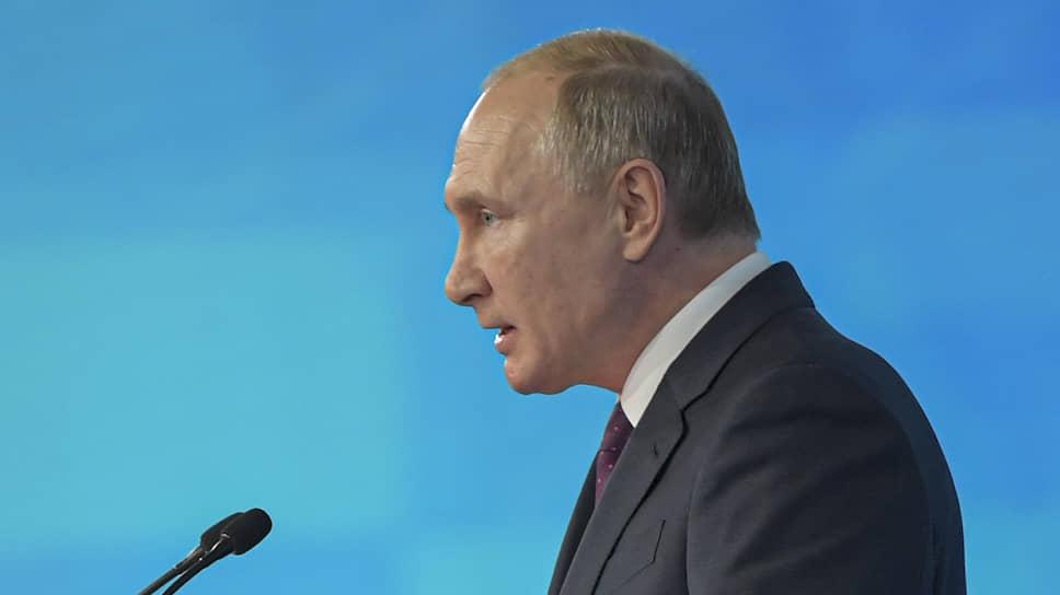 Что делал Владимир Путин на съезде «Единой России» с «Единой Россией»