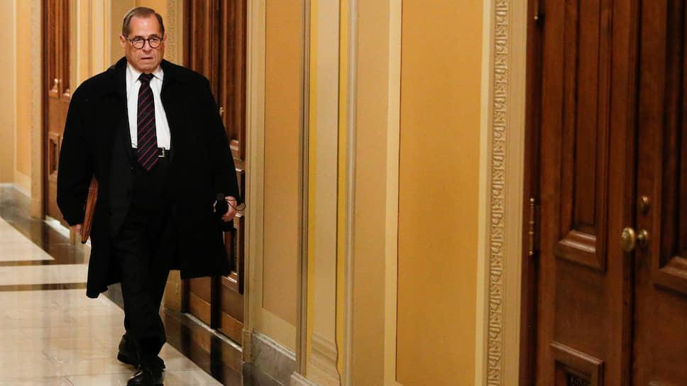 Председатель судебного комитета Палаты представителей демократ Джеррольд Надлер принял эстафету «главного по импичменту»