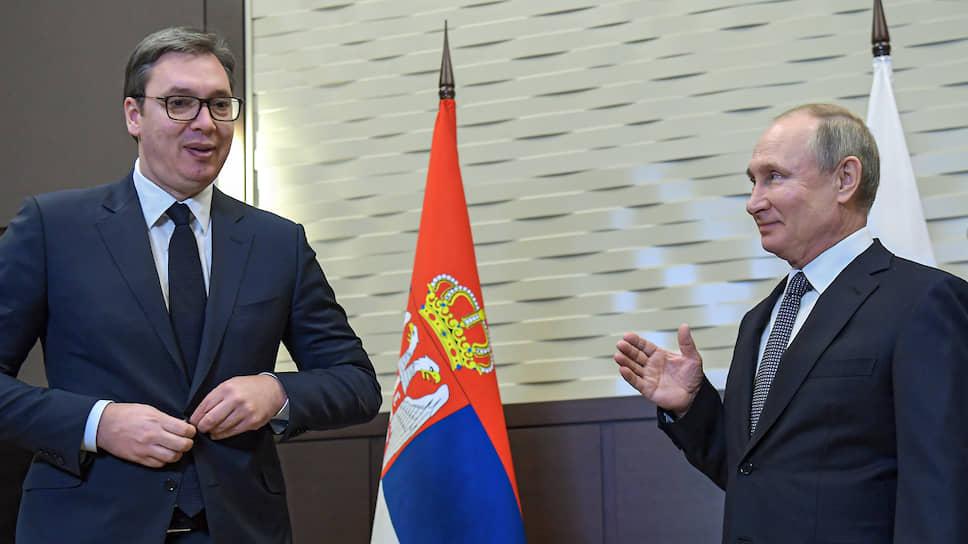 Серб наш насущный / Как Владимир Путин хлопотал о благополучии Сербии в Бочаровом Ручье