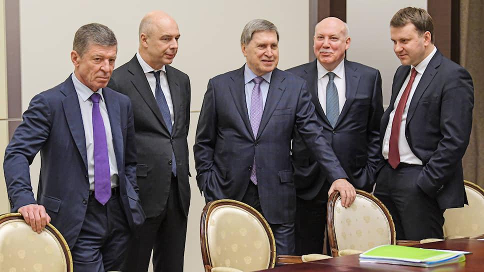 Российские переговорщики стали плечом к плечу и рано радовались