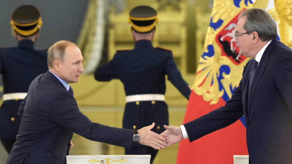 Владимир Путин и Валерий Фадеев где-то уже виделись: то ли в Общественной палате, то ли в СПЧ