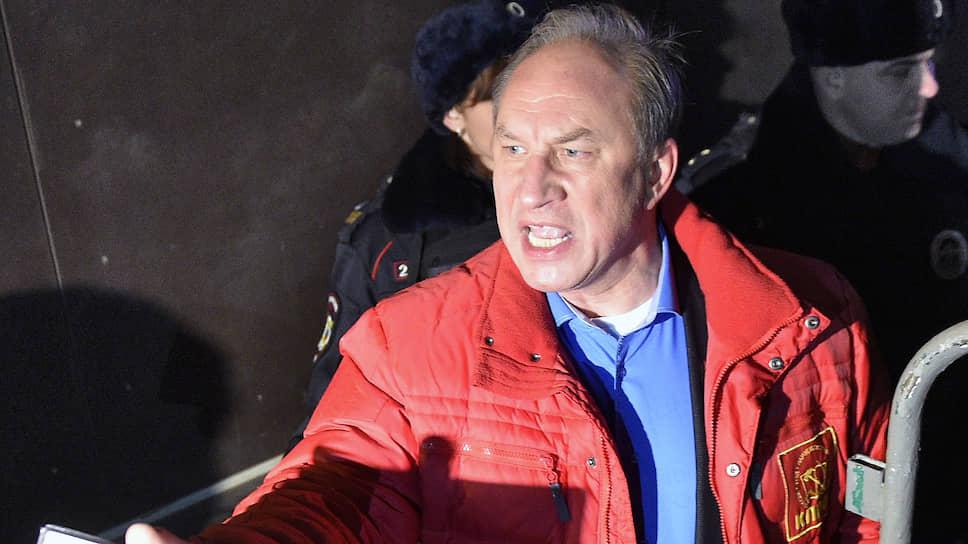 Первый секретарь московского горкома КПРФ, депутат Госдумы Валерий Рашкин